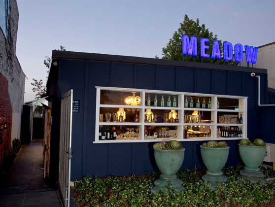 MEADOW RESTAURANT EFFECTING ENVIRONMENTS graphic