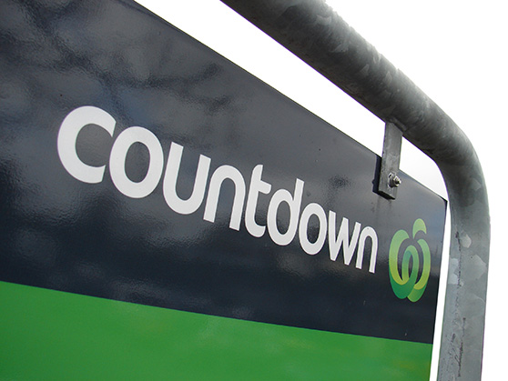 COUNTDOWN BRAND APPLICATION graphic