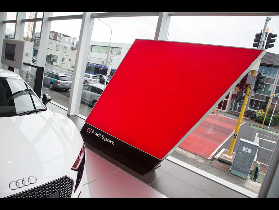 BRANDPARTNERS WITH AUDI graphic