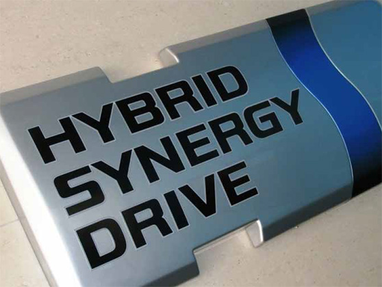 TOYOTA NATIONAL HYBRID SYNERGY DRIVE BRAND LAUNCH graphic