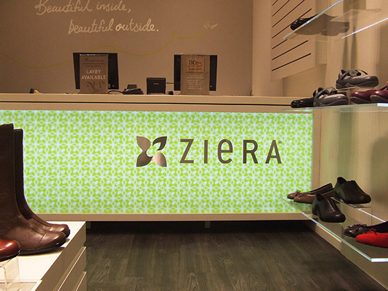 ZIERA NATIONAL RETAIL BRAND ROLL-OUT graphic