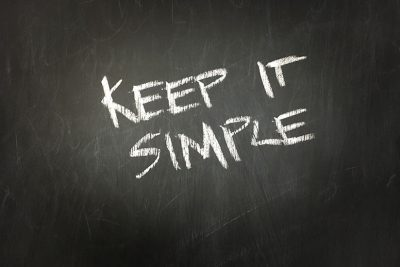 Less is more… is simplicity the simple solution to effective branding? graphic